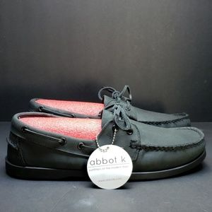 Abbot K Black Dress Shoes, Size 10.5